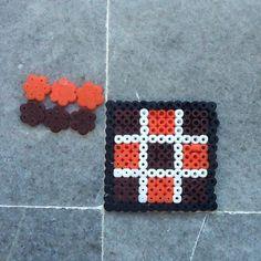 Tic Tac Toe board perler beads by marinascrafts13