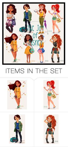 """the joy of Disney icon"" by sunswept ❤ liked on Polyvore featuring art"