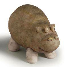 Hippo Food Art
