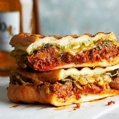Classic Mexican flavors -- chorizo, poblano peppers, guacamole, and crema -- unite for a grilled sandwich to remember: http://www.bhg.com/recipes/sandwiches/grilled-sandwich-recipes/?socsrc=bhgpin022514paninirajas&page=11