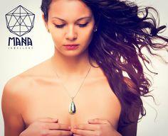 Silver labradorite necklace by Mana jewelry by MANAByGekova on Etsy