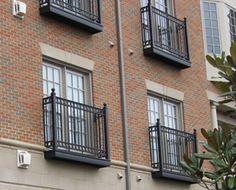 TB-04 Aluminum balconies