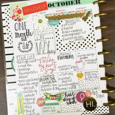 Happy Planner - Weekly Page - http://Scrapbook.com