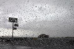 Rain in Farson, Wyoming