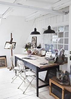atelier bureau decoration