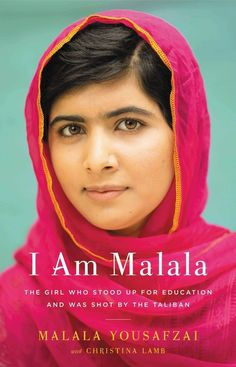 I Am Malala by Christina Lamb and Malala Yousafzai | 26 Contemporary Books That Should Be Taught In High School