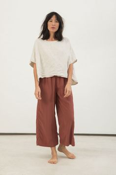 Florence Pant in Silk Crepe – Elizabeth Suzann