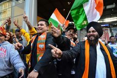 Over 200 Indians have caught the Modi Express – a 12-hour train journey from Melbourne to Sydney to hear Indian prime minister Narendra Modi speak.