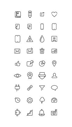 Free Icons Collection on Behance