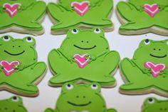 Valentine frogs
