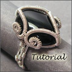 Mystic Ring Wire Wrapped Ring Tutorial by WireJewelryTutorials