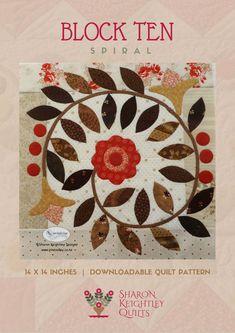 Winterwood Quilt Pattern BOM | Sharon Keightley Quilts