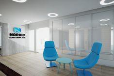 Biuro Nordic Semiconductor Showroom, Chair, Furniture, Design, Home Decor, Decoration Home, Room Decor, Home Furnishings