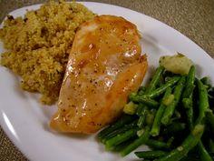 Honey Marsala Glazed Chicken