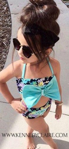 Gabriela Bikini Oh my goodness ADORABLE Bikini for Baby Girls! Toddler Bikini, Baby Girl Swimsuits, Tiddler Girl Fashion Baby Girl Fashion, #babygirlclothes