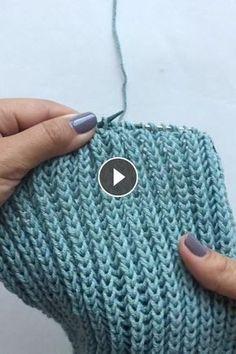 briochestitch,howiknit-How to Brioche Stitch knittingaddict knitstagram knitting knittingvideo briocheknitting video Knitting Stiches, Easy Knitting, Knitting Yarn, Crochet Stitches, Knitting Patterns, Knit Crochet, Crochet Patterns, Knitting Videos, Diy Crafts Knitting