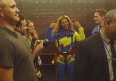 Beyonce free falls 629 feet from New Zealand's Sky Tower: 'This is awesome!'