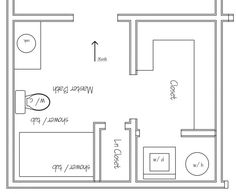 bathroom with washer and dryer layout - Google Search