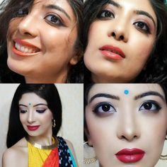 Top pics: From start of 2016 #sydney  Bottom pics: Almost end of 2016 #mumbai (recent) #gloupchallenge #makeup  I'm pretty happy with not my makeup skills upgrade. Life taught me a lot this year and now I'm a more happier and content person and leading my life on my terms in an even more clear ways. . . #indianyoutuber #challenge #makeuplover #myyear #2016 #lifelessons #happy #beautyblogger #indianblogger #indianfashionblogger #indianbeautyblogger #indianmakeup #youtuber #vlogger #like4like…