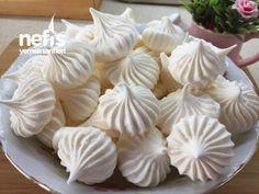 Beze (Mereng) – Nefis Yemek Tarifleri Garlic, Food And Drink, Vegetables, Cupcake, Desserts, Tailgate Desserts, Deserts, Cupcakes, Vegetable Recipes