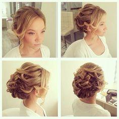 Fancy hair style