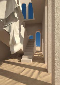 Minimalist Architecture, Organic Architecture, Interior Architecture, Arquitectura Wallpaper, Exterior Design, Interior And Exterior, Dream Home Design, House Design, Future House