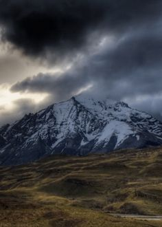 Or watch the clouds kiss the top of the Andes Mountains. | 10 Nature GIFs To Make You Resent Being At The Office