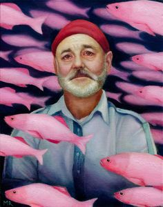Wes Anderson-Inspired Works of Art: From Steve Zissou to Margot Tenenbaum - The Daily Beast