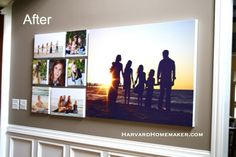 Decorate With Family Photos and Hang a Wall Gallery With Ease - Harvard Homemaker