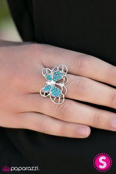 Butterfly Banquet - Blue