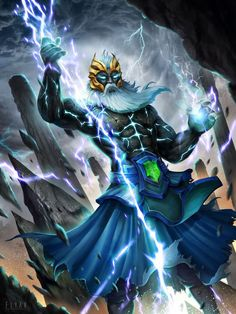 Hello, this is personal illustration of Dota 2 Zeus Arcana - Tempest Helm of the Thundergod, i like this set ! Dota 2 Zeus Arcana-Tempest Helm of the Thundergod Overwatch, Dota Tattoo, Dota2 Heroes, Dota Game, Dota 2 Wallpapers Hd, E Sports, Defense Of The Ancients, Starcraft 2, Fantasy Character Design