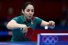 Day 1:  Table Tennis - Women's Singles - Yadira Silva of Mexico