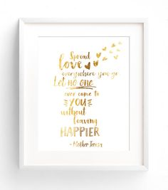 Gold Quote Good Vibes Only Faux Gold Foil Quote Wall Art Digital Download .