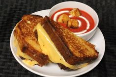 How to make this CAKE  that looks like Grilled Cheese & berry (faux tomato) soup / Instructibles