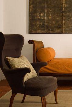 Modern • Chester Jones - A study, house in France