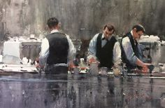 Joseph Zbukvic, CoffeeTime, 35x52, 2013.jpg 1.600×1.045 pixels