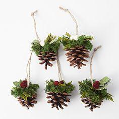 オーナメント まつぼっくり 松ぼっくり 自然素材を飾って楽しむクリスマス | 無印良品ネットストア