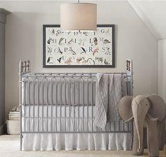 crib, elephant, pretty simplicity