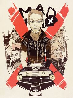 Mad Max by Marie Enger