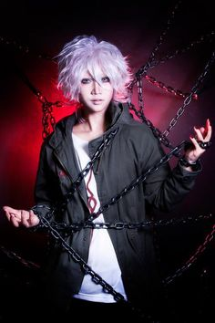 Nagito Komaeda | REIKA - WorldCosplay I just want to say that I am in love with him now okay bye