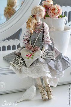 Очаровательная кукла-тильда Полина от Нади Синкевич — работа дня на Ярмарке Мастеров. Магазин мастера: sinkevich.livemaster.ru #tilda #doll #artdoll #handmade ♡