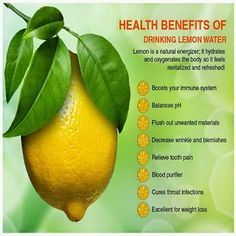 Why you should drink lemon water?  #infographic   #infographicoftheday   #health   #lemonwater   #lemonwaterbenefits     YOUR HEALTH - Community - Google+