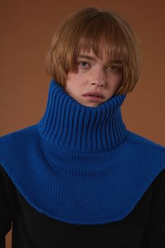 ADERerror Contemporary Minimalism Color FW15/16 Collection Knitwear Neck warmer Styling 'But near missed things'
