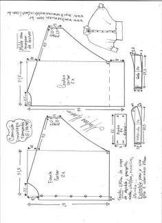 Camisão morcego | DIY - molde, corte e costura - Marlene Mukai