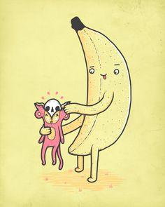 Banana's revenge