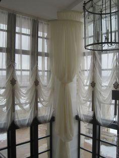 Текстиль, ковры ручной работы. Ярмарка Мастеров - ручная работа. Купить Французские шторы в холл. Handmade. Шторы, загородный