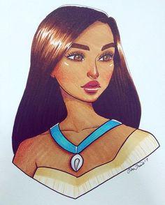 37 Best ideas for drawing art disney pocahontas Disney Pixar, Disney Pocahontas, Princess Pocahontas, Disney Kunst, Disney Fan Art, Disney And Dreamworks, Cute Disney Drawings, Disney Princess Drawings, Disney Wallpaper
