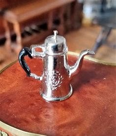 Eugene Kupjack - sterling silver Georgian coffee pot, circa 1770