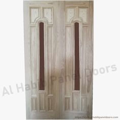 Glass Panel Door, Panel Doors, Glass Panels, Wood Glass, Furniture, Design, Home Decor, Decoration Home, Room Decor