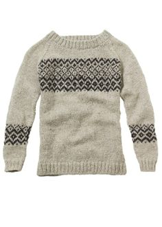 People Tree | Gregg Cream Fairisle Jumper